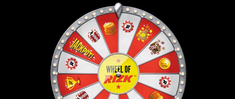 Wheel of Rizk kierrätysvapaat palkinnot - ilmaiskierrokset