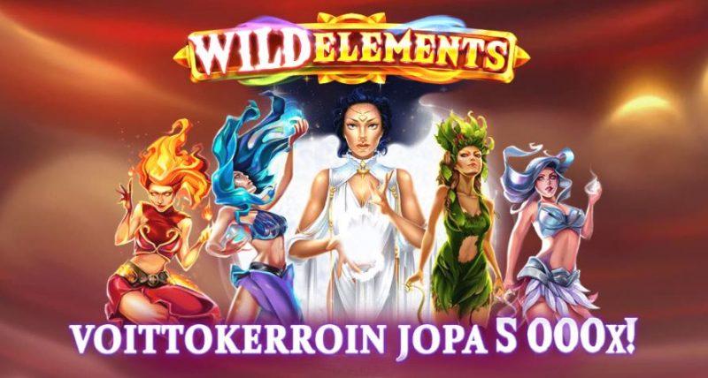 Wild Elements kolikkopeli voittokerroin