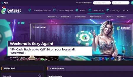 Betzest live kasino