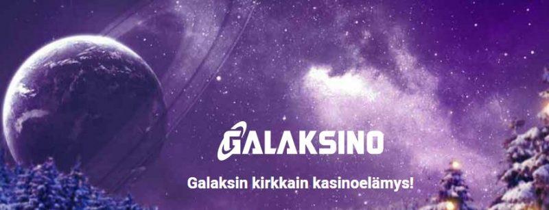 Galaksino kirkas kasinoelämys