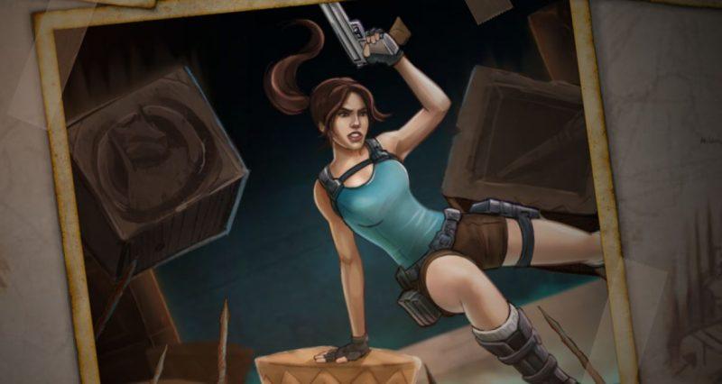 Lara Croft matkalla ilmaiskierroksille