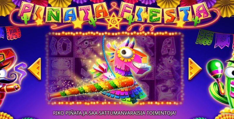 Pinata Fiesta erikoistoiminnot