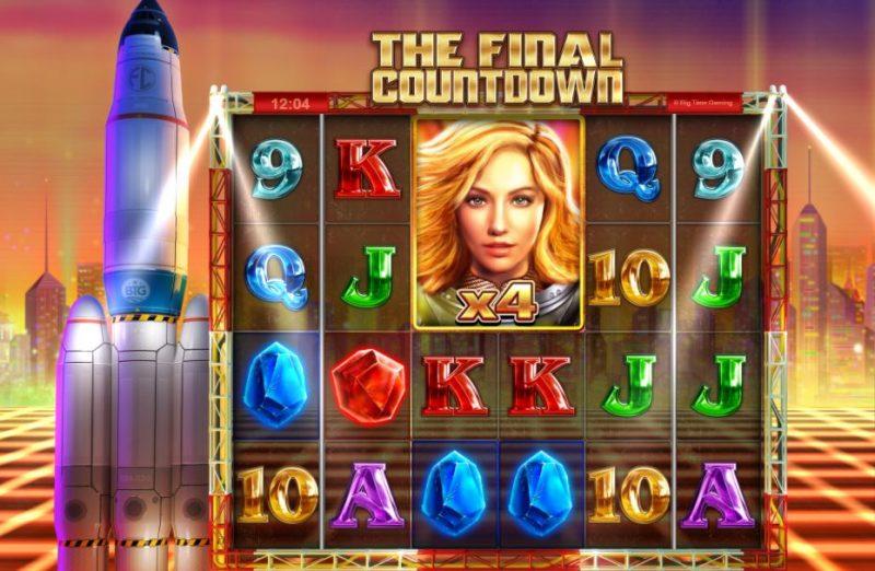 The Final Countdown jättisymboli wild