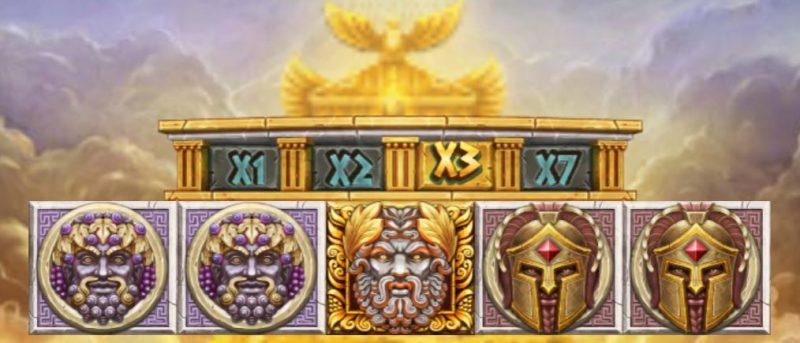 Zeus Ancient Fortunes ulkoasu