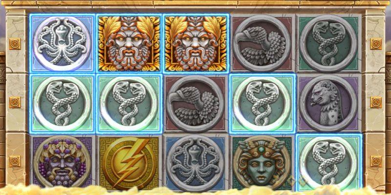 Zeus Ancient Fortunes voittoyhdistelmä