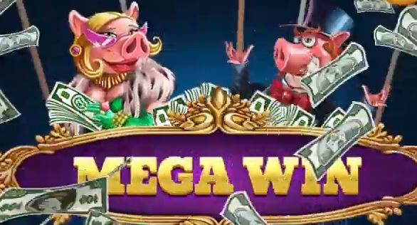 Piggy riches Megaways megavoitto