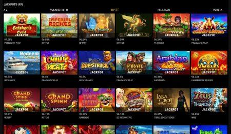 VIPs Casino jackpotit