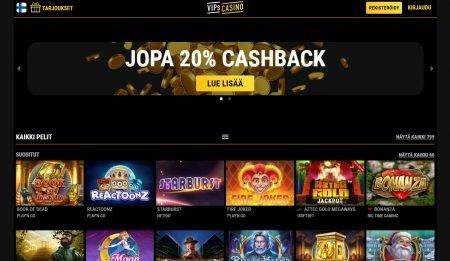 VIPs Casino etusivu