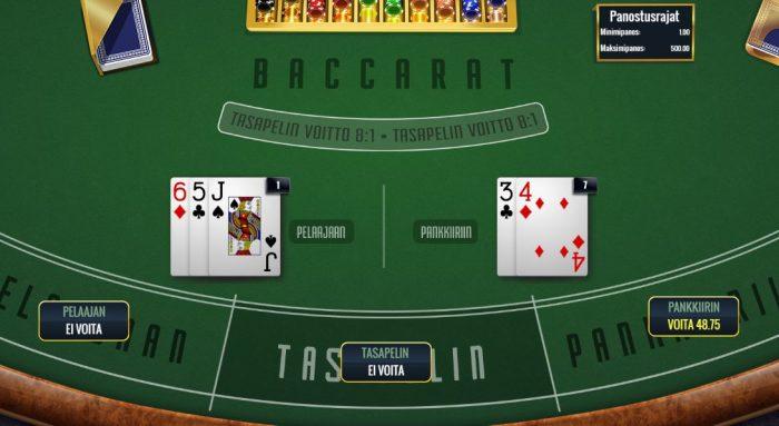 Baccarat käsi