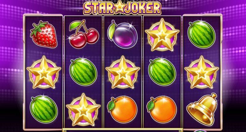 Star Joker wild tähdet
