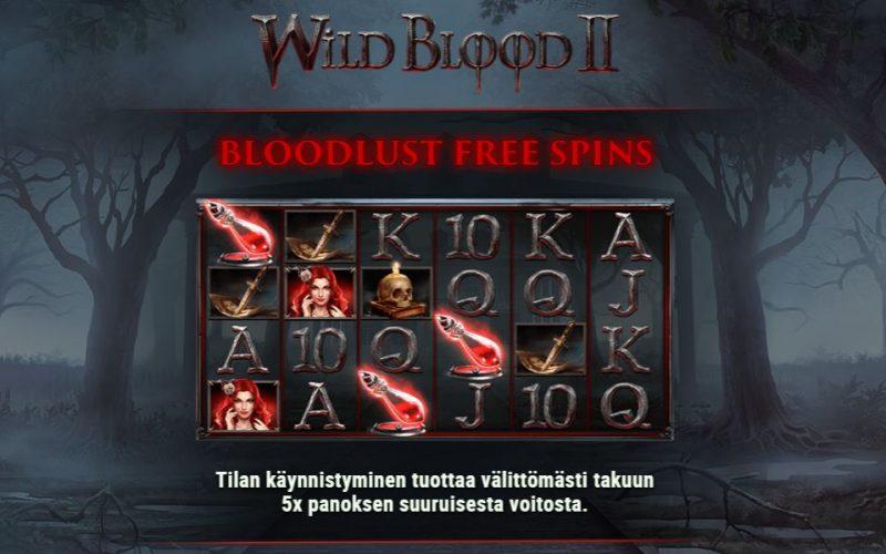 Wild Blood 2 ilmaiskierrokset