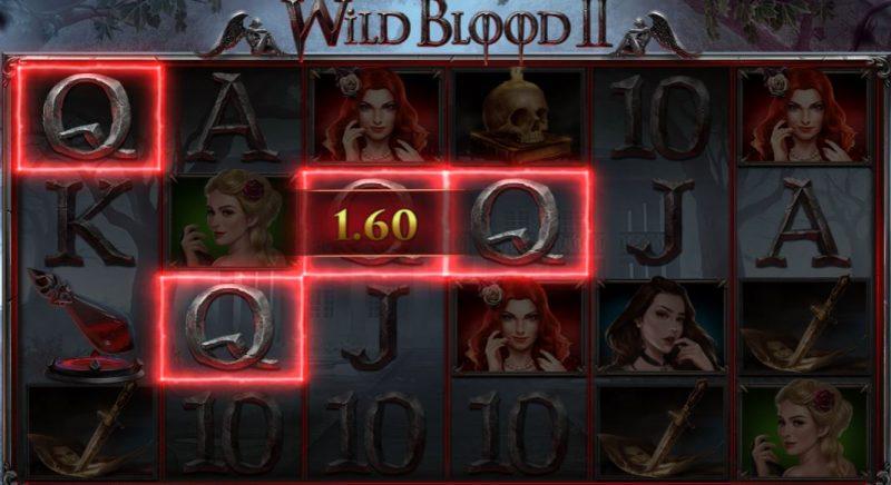Wild Blood 2 voittoyhdistelmä