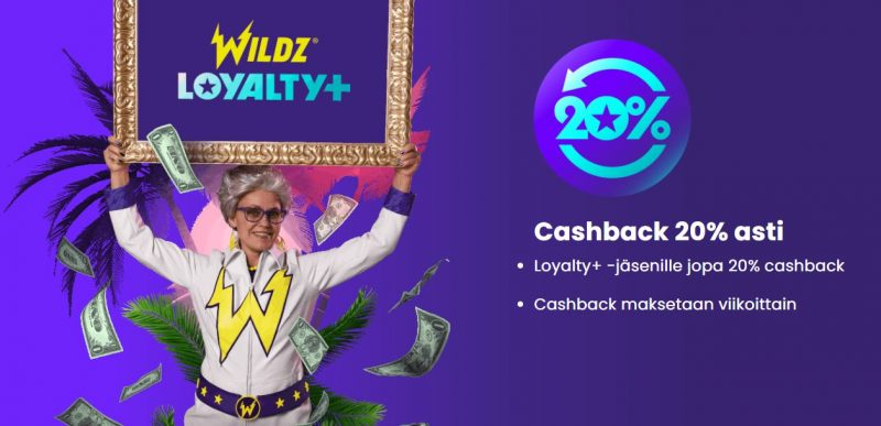 Wildz casino VIP bonus