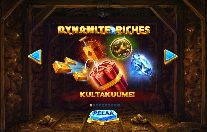 Dynamite riches kultakuume