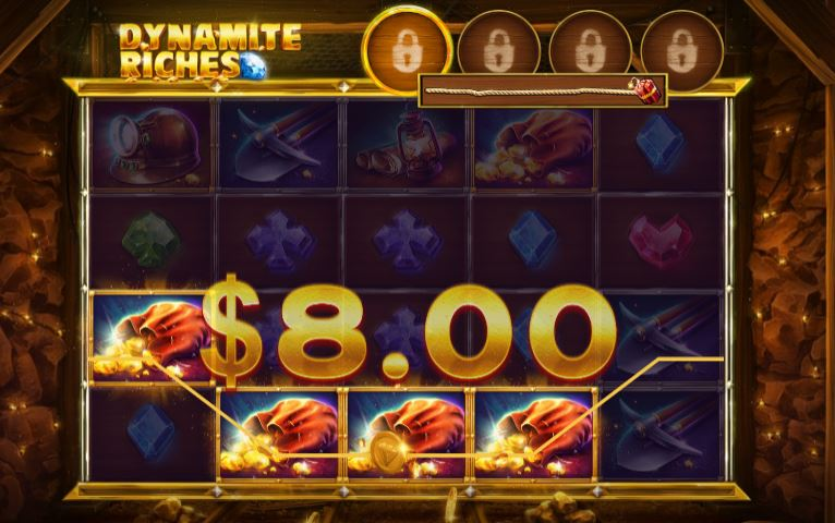 Dynamite riches voitto