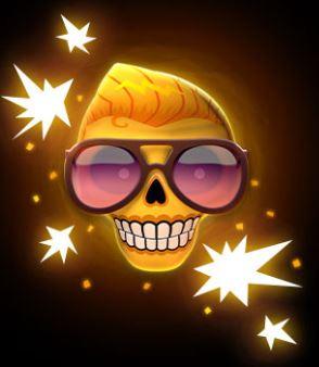 Esqueleto Explosivo 2 wild symboli