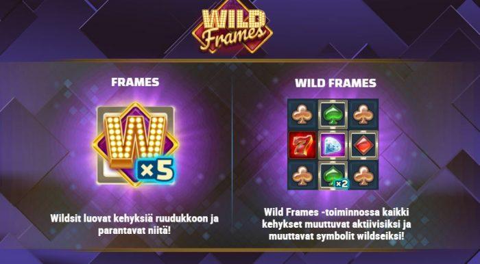 Wild Frames villit kehykset