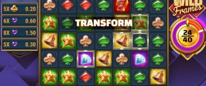 Wild frames transform
