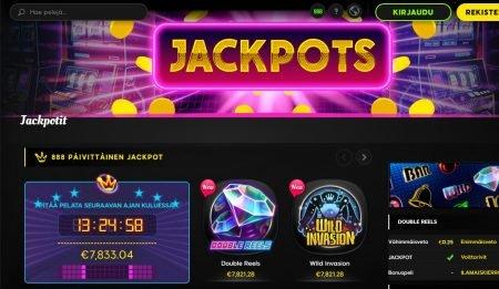 888 Casino jackpotit