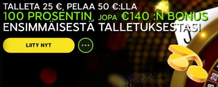 888 Casino tervetuliaisbonus