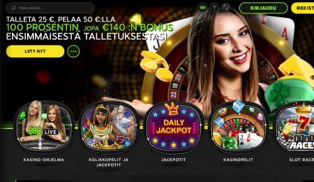 888 casino etusivu