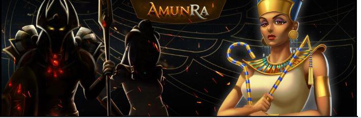 AmunRa casino ulkoasu