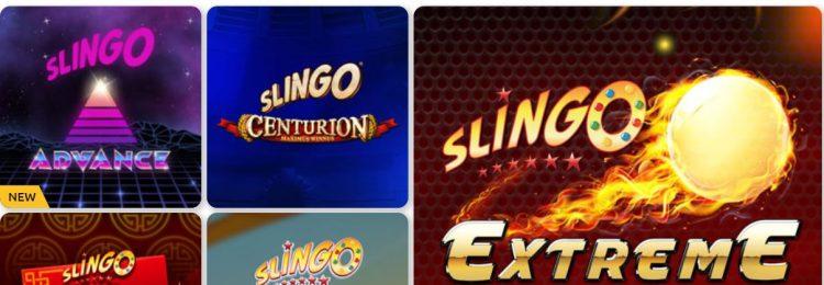 Bacana play slingo pelit