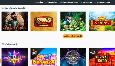 Boss Casino suositut pelit