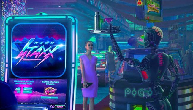 Casino Planet ulkoasu