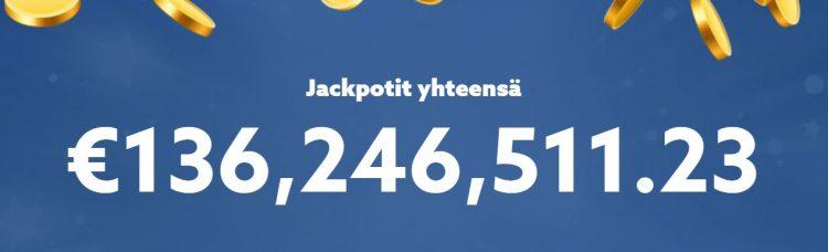 Jackpotit Scatters casinolla
