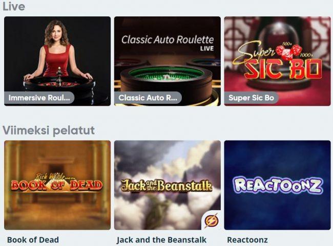 Speedy lotto kolikko ja livepelit