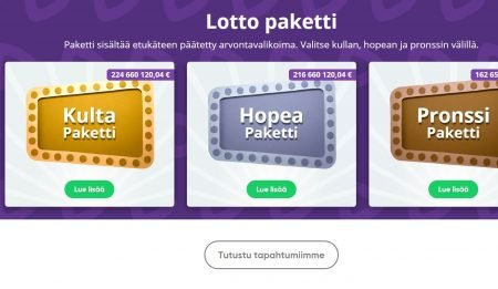 Speedy lotto lottopaketti
