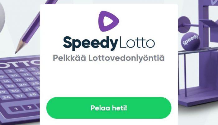 Speedy lotto pelaa heti