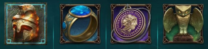 Shield of athena symbolit