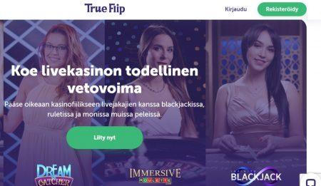 TrueFlip livepelit