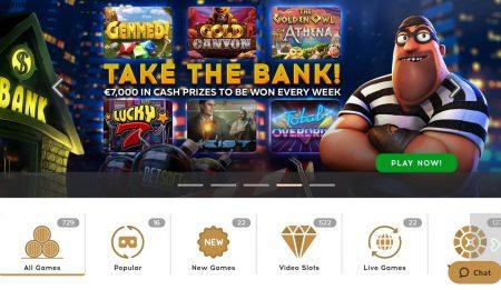 bootlegger kasino pankkirosvo