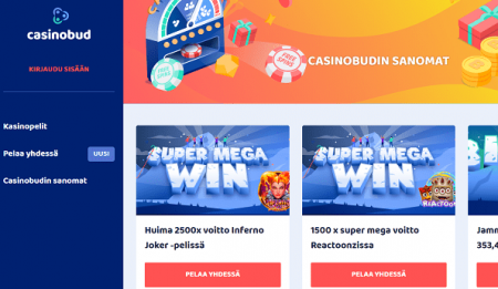 Casinobud uutiset