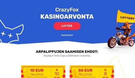Crazy Fox arvonta