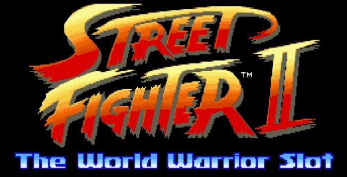Street fighter 2 kolikkopeli ulkoasu