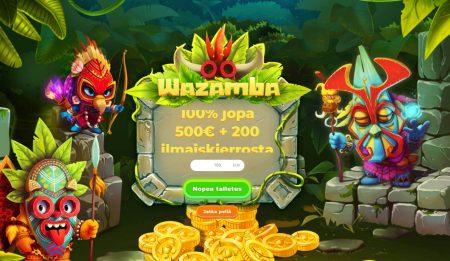 Wazamba casino etusivu