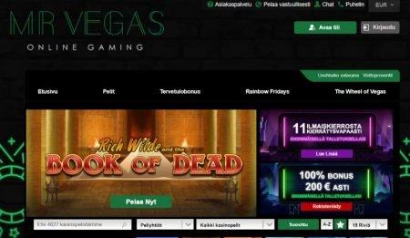 Mr Vegas Casino teema