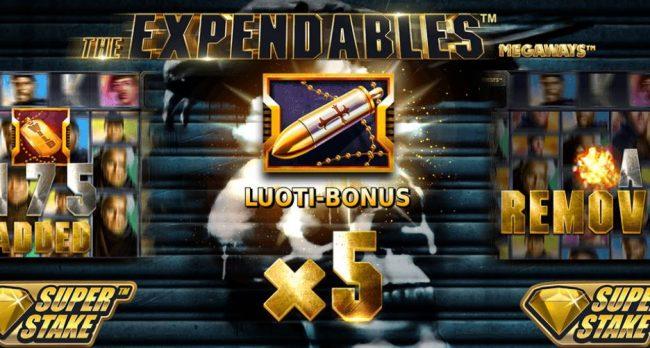 the expendables bonus