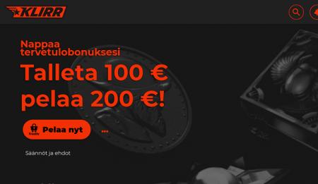 Klirr Casino bonus