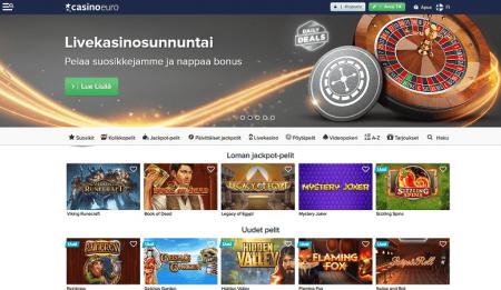 casinoeuro-casino pelivalikoima