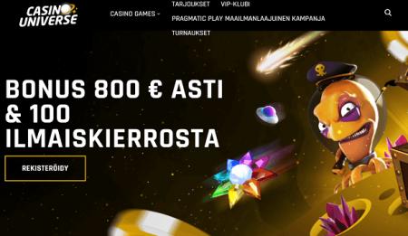 Casino Universe bonus