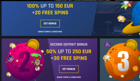 Casino Universe tarjoukset