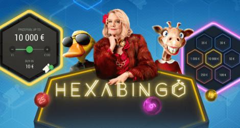 Kolikkopelit: Ilmaislippuja HexaBingoon ja muikeita turnauspalkintoja