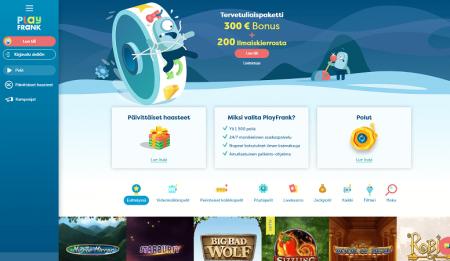 playfrank casino etusivu