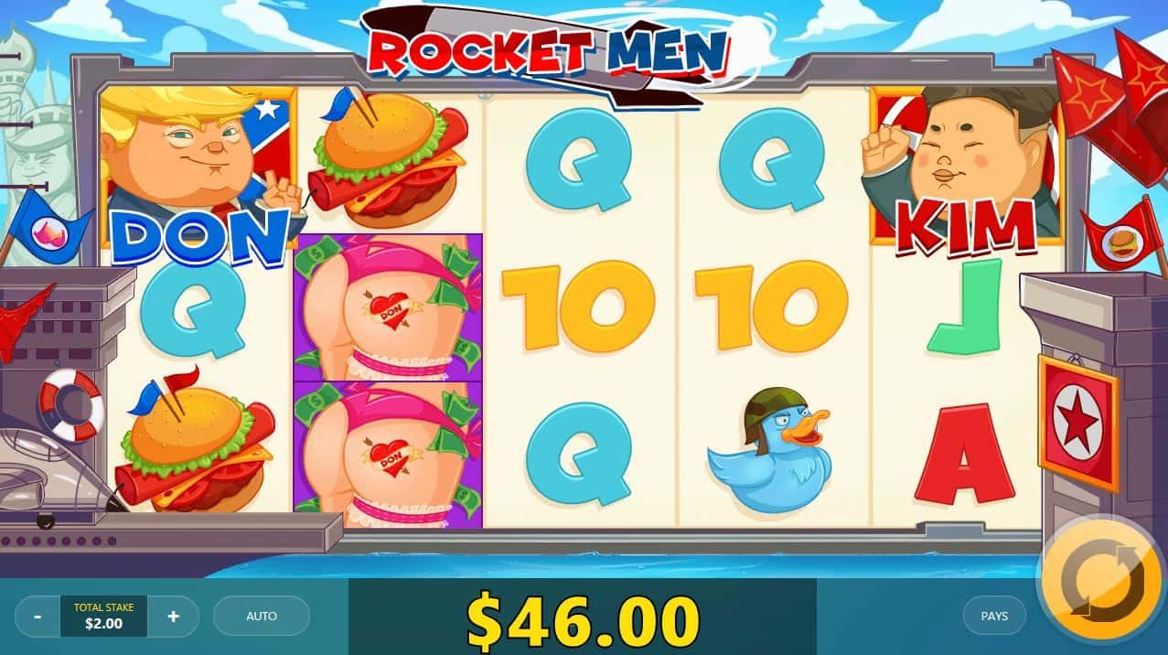 Rocket Man symbolit