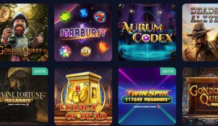 Rush Casino kolikkopelit